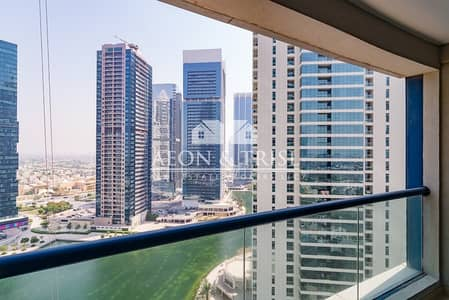 Studio for Rent in Jumeirah Lake Towers (JLT), Dubai - Furnished I Balcony I Lake Views I Chiller Free