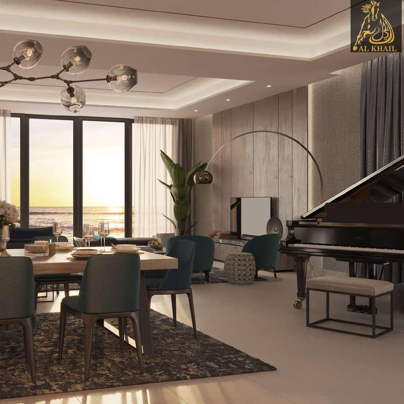 2 Beautiful Spacious 6BR Villa for sale in Sharjah Waterfront City | Easy Payment Plan | Stunning Beach Views
