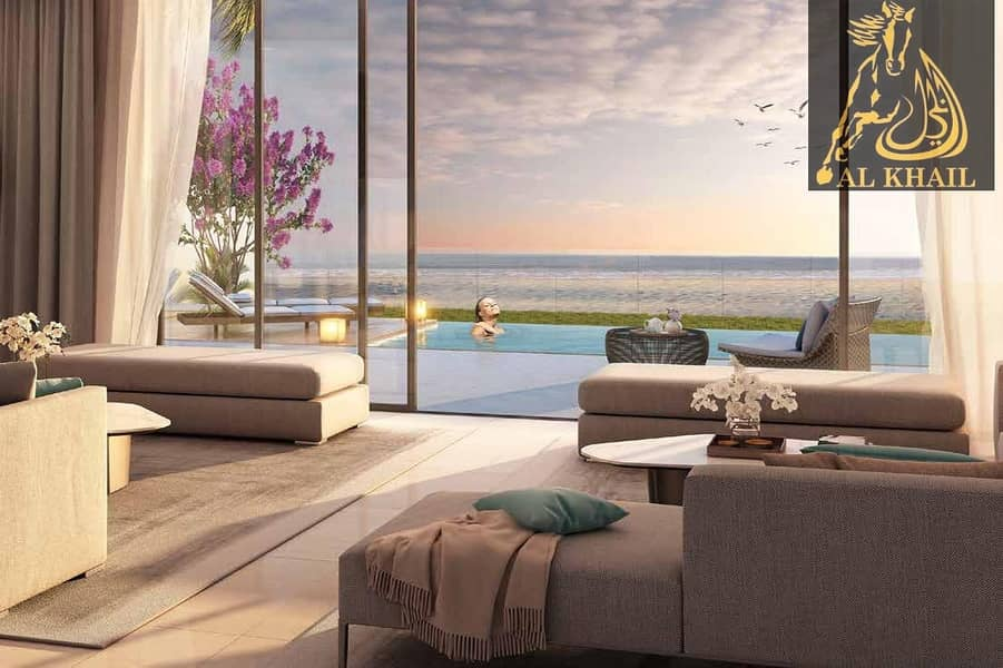 14 Beautiful Spacious 6BR Villa for sale in Sharjah Waterfront City | Easy Payment Plan | Stunning Beach Views