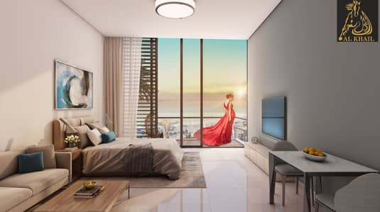1 Bedroom Flat for Sale in Sharjah Waterfront City, Sharjah - Beach Views | Fabulous 1BR Waterfront Apartment in Sharjah Waterfront City | Easy Payment Plan with 5 Years Payment Plan