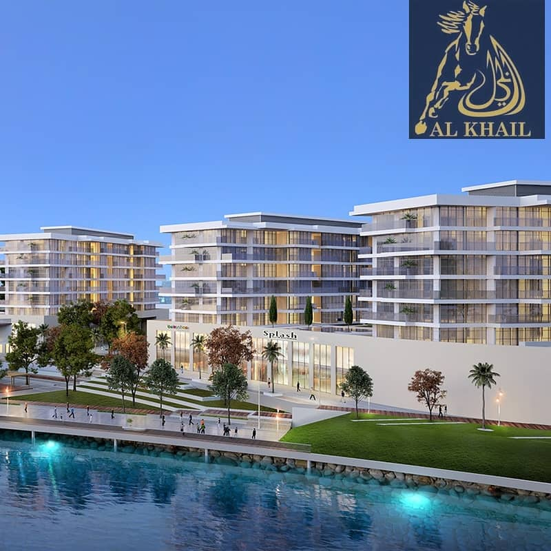 2 Affordable Studio Apartment in Sharjah Waterfront City Facing Scenic Beach View