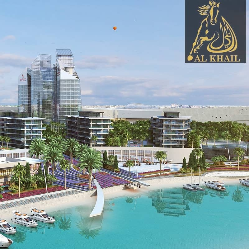 11 Affordable Studio Apartment in Sharjah Waterfront City Facing Scenic Beach View