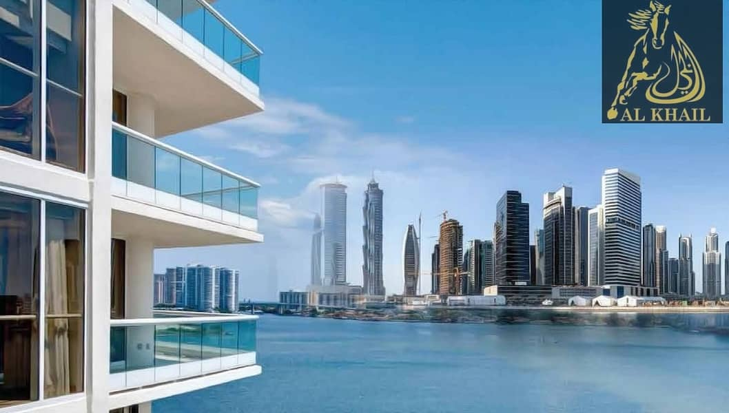 Glamorous 3-Bedroom for sale in Business Bay ONLY AED 1.79M With Burj Khalifa views
