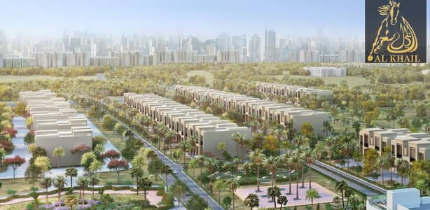 Alluring Wide 3BR Townhouse Plot for sale in Al Furjan | Prime Location