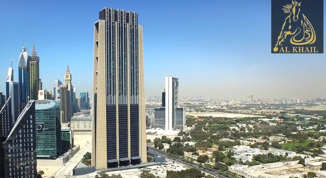 High-Floor Vacant Splendid 2BR in Index Tower DIFC  Full Burj Khalifa View