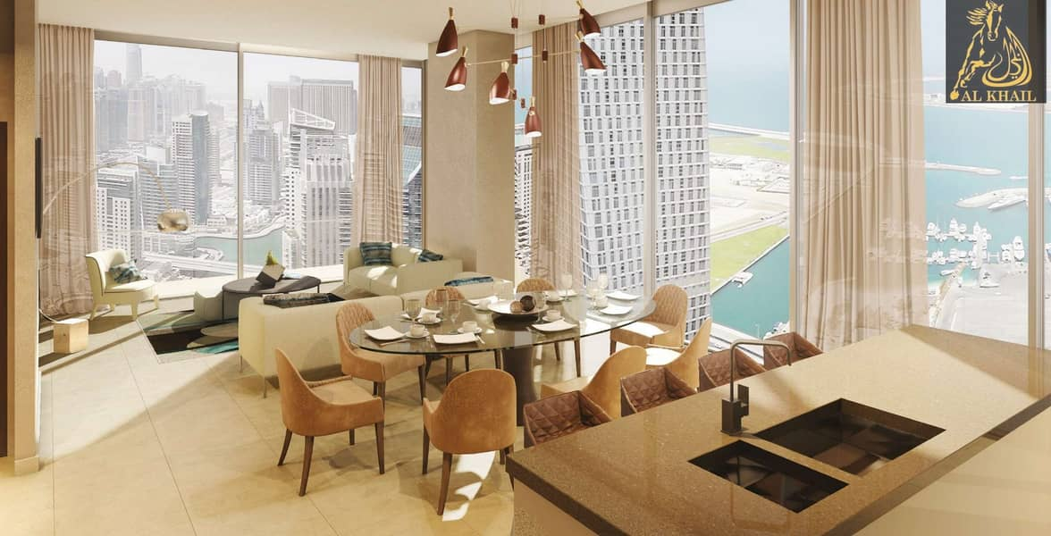 Grandeur 4BR Duplex Penthouse for sale in Dubai Marina   Ready to Move  with Easy Payment Plan   Accessible Location