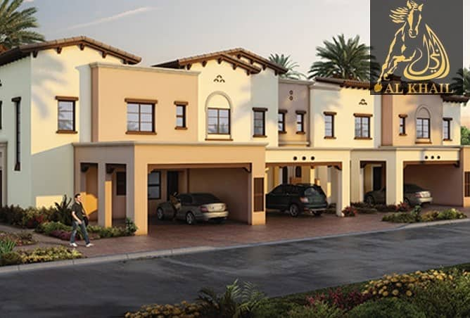 2 Magnificent Large 4BR Modern Townhouse for sale in Reem Community