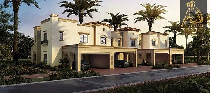 8 Magnificent Large 4BR Modern Townhouse for sale in Reem Community