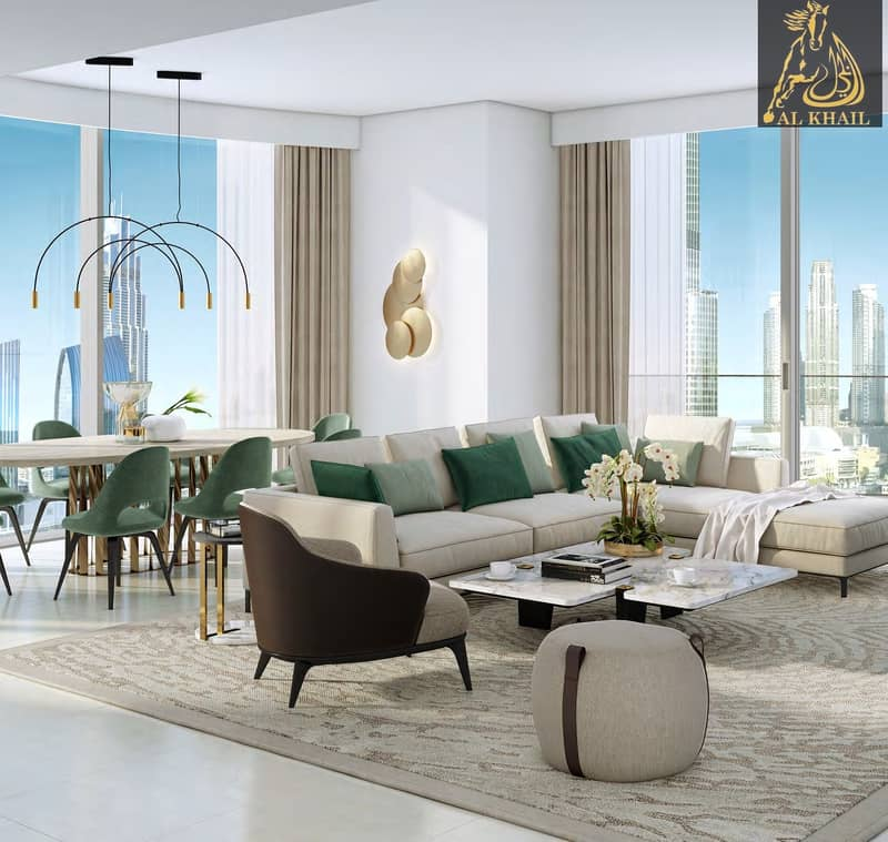 Upscale 3BR Apartment for sale in Downtown Dubai