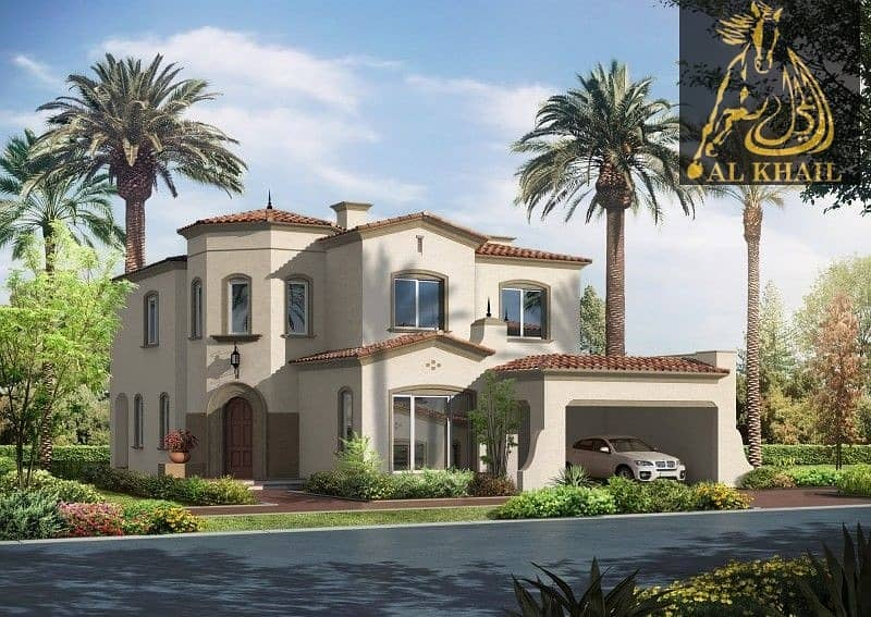 12 Magnificent Large  6BR Villa for sale in Arabian Ranches Easy Payment Plan