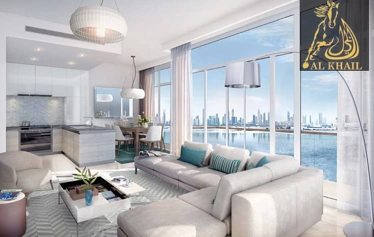 2 Upscale 2BR Waterfront Apartment for sale in Dubai Creek Harbour | Attractive  Payment Plan with 3 Yrs Post Handover