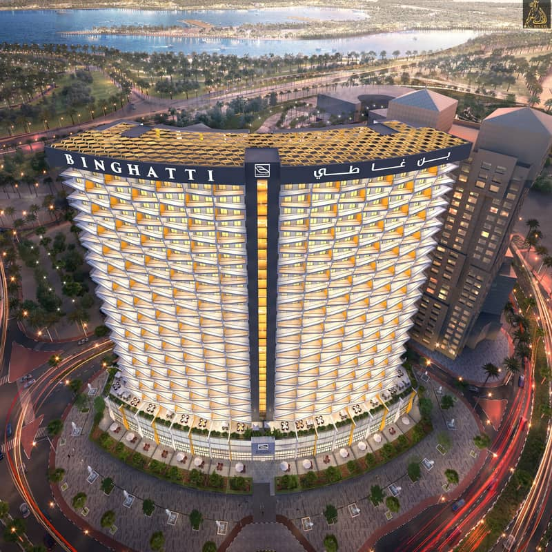 3BR Binghatti Avenue Al Jaddaf Bur Dubai