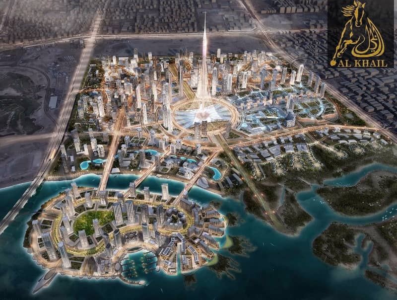 22 Upscale 2BR Waterfront Apartment for sale in Dubai Creek Harbour | Attractive  Payment Plan with 3 Yrs Post Handover