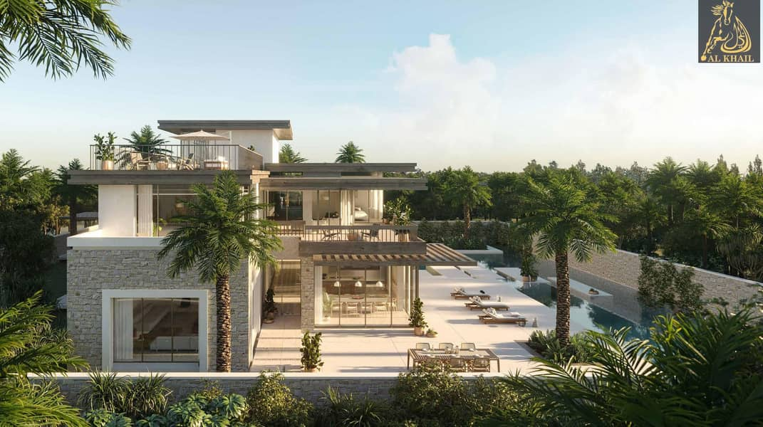 2 Luxurious 4br Villa With Huge Balcony And Parking