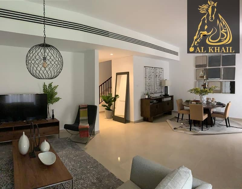 Ready to Move in 4BR Townhouse in Al Zahia | 21% Discounted