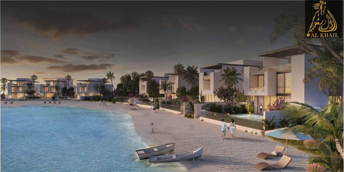Amazing 7BR Villa in Sharjah Waterfront City Prime Location Beach Views
