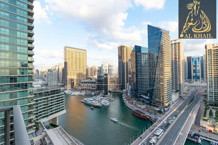 2 Spacious Beautiful 3BR Apartment for rent in Dubai Marina with Stunning Marina View | Prime Location