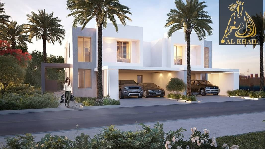 Magnfiicent 4BR Townhouse in Dubai Hills Easy Payment Plan Golf Course View