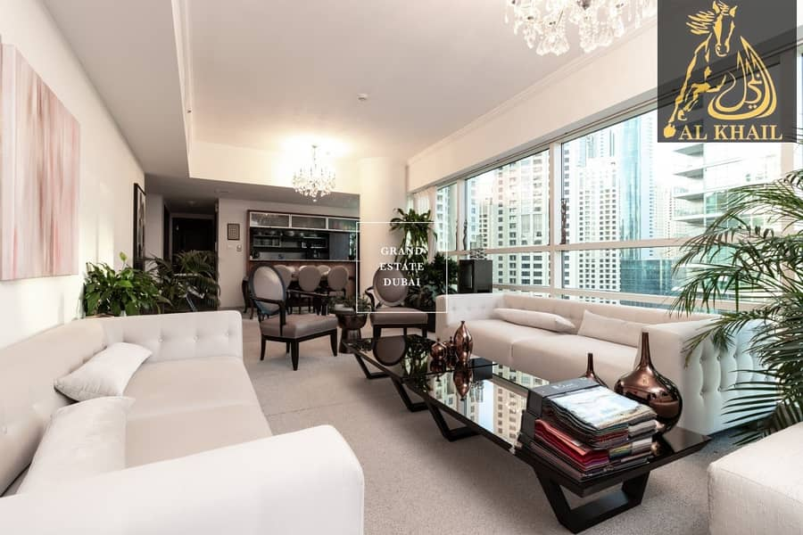 17 Spacious Beautiful 3BR Apartment for rent in Dubai Marina with Stunning Marina View | Prime Location