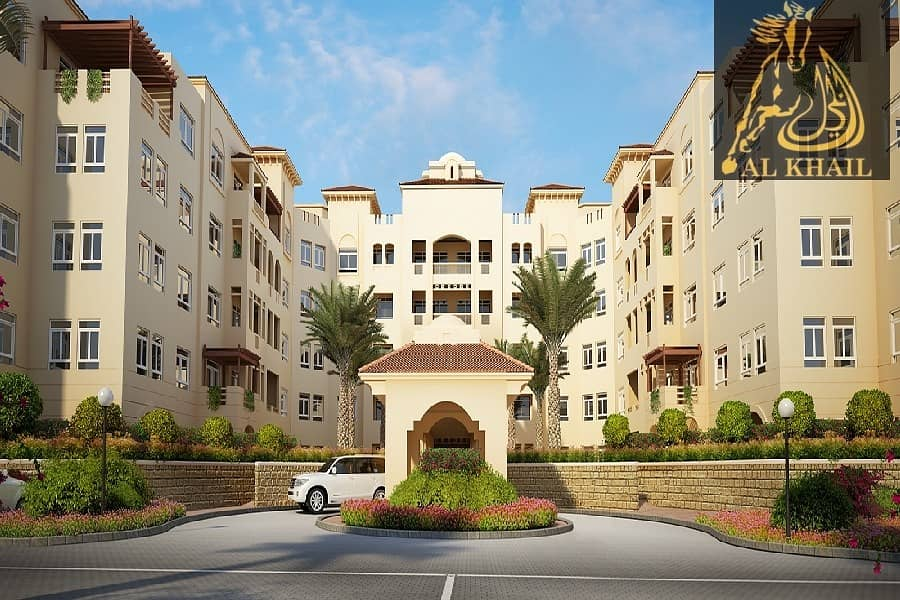 10 Beautiful Spacious 1BR Apartment for rent in Dubai Festival City Best Location