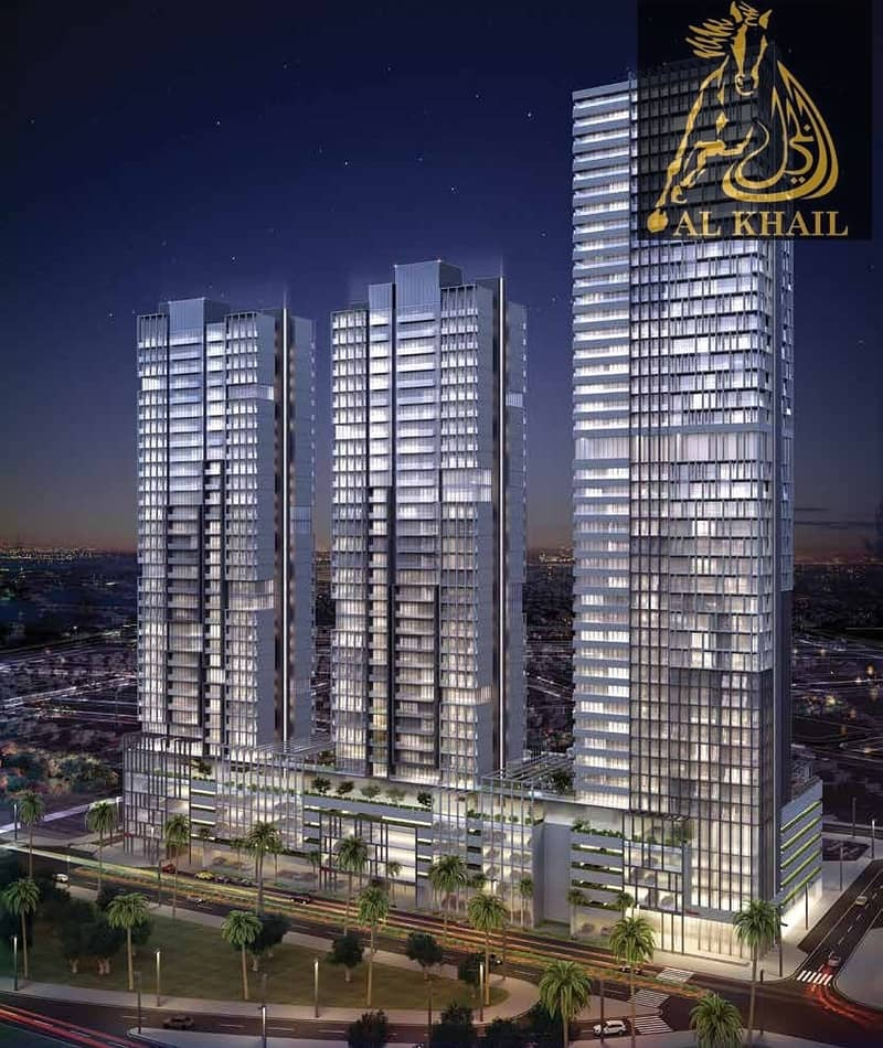 2 Classy Studio Apartment for sale in JVC On Affordable Price with Easy Payment Plan