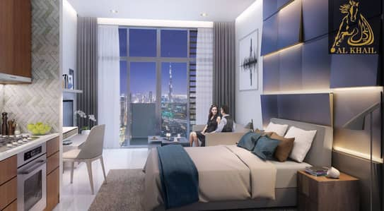 Amazing Affordable 1 BR in Dubai Healthcare City Easy Payment Community Views