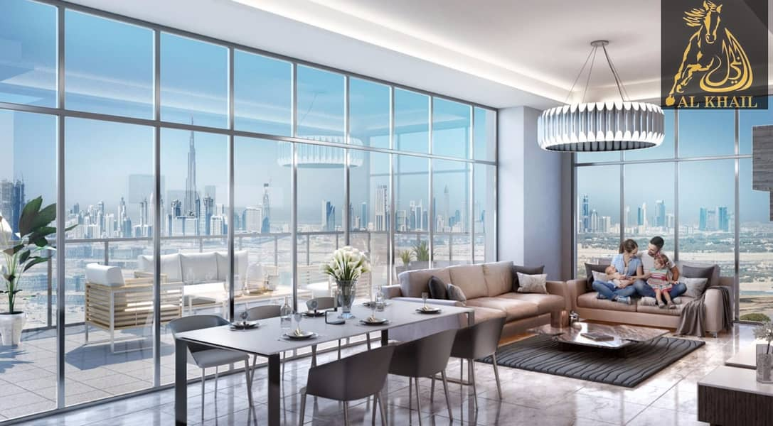 2 Amazing Affordable 1 BR in Dubai Healthcare City Easy Payment Community Views