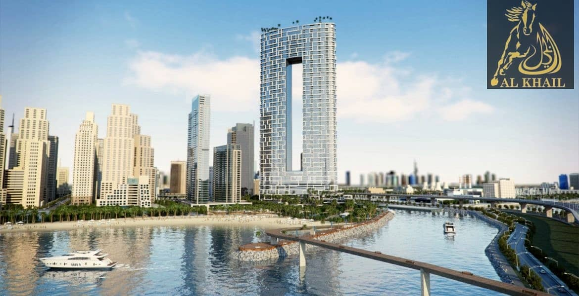 Invest Splendid 1BR Apartment in JBR Flexible Payment Plan Beachfront Apartments