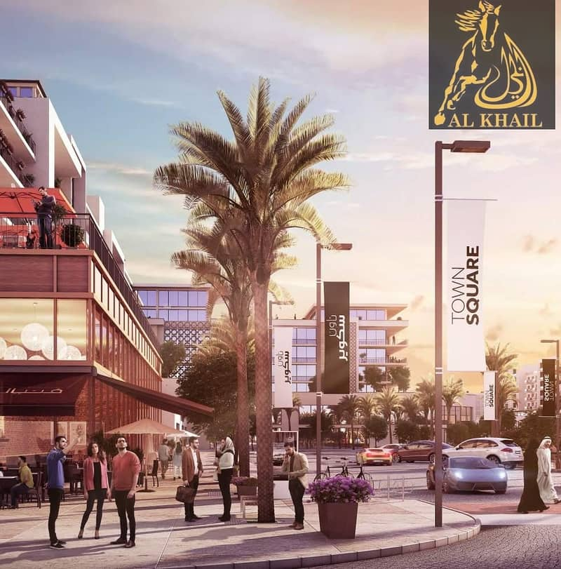 2 Glamorous Ready 3BR Townhouse for sale in Town Square Dubai Easy Payment Plan