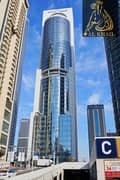 8 Opulent Fitted Office Space for sale in Gold Crest Tower JLT Panoramic Lake View