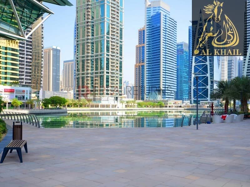 10 Opulent Fitted Office Space for sale in Gold Crest Tower JLT Panoramic Lake View