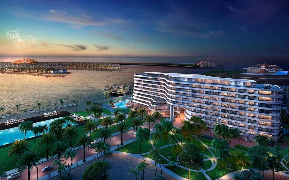 2 High-End 1BR in Palm Jumeirah Fully Furnished Easy Payment Plan Best Location