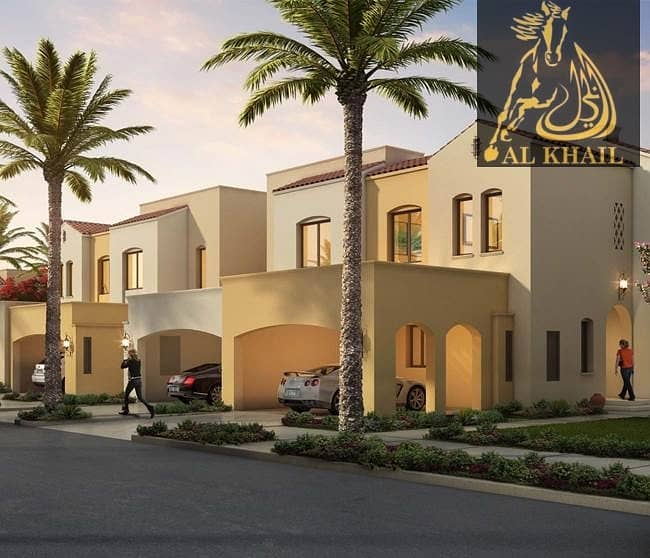 Beautiful Townhouse in Serena Dubailand Easy Payment Plan 5 Years Post Handover