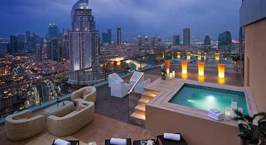 شقة فندقية 2 غرفة نوم للبيع في وسط مدينة دبي، دبي - Exquisite Furnished 2BR Hotel Apartment in Burj Area Move In Accessible Location