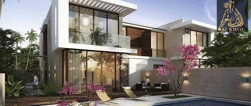 Stylish 3BR Villa in Damac Hills with scenic views of Golf Course