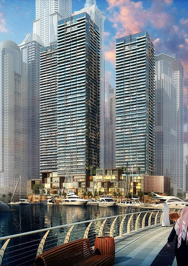 10 High-End 4BR Penthouse for sale in Dubai Marina | Full Marina and Sea View | 5 Yrs Post handover with 100% DLD Waiver