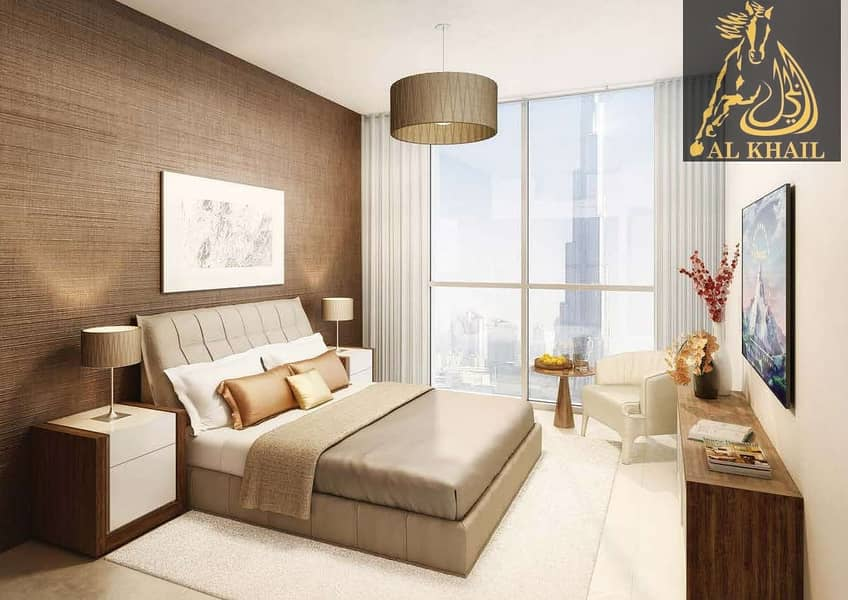 4% Off DLD Waiver   Magnificent 1BR Apartment for sale in Downtown Dubai   Attractive Payment Plan   Community Views