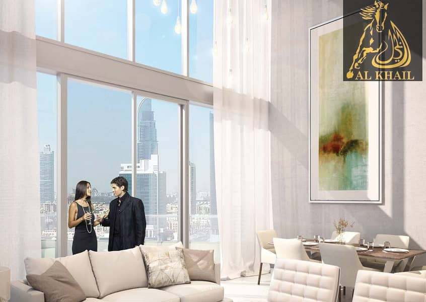 2 4% Off DLD Waiver   Magnificent 1BR Apartment for sale in Downtown Dubai   Attractive Payment Plan   Community Views