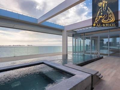 بنتهاوس 5 غرف نوم للبيع في جزيرة بلوواترز، دبي - Luxury Unique and Private 5BR Penthouse for sale in Bluewaters Island Prime Location