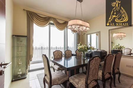 Furnished Alluring 3BR in Downtown Burj Khalifa View Prime Location