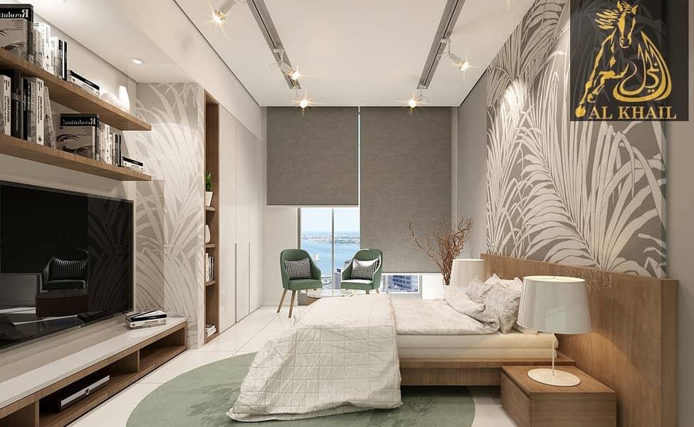 Lavish Furnished Studio Apartment for sale in Wadi Al Safa Affordable Price Prime Location