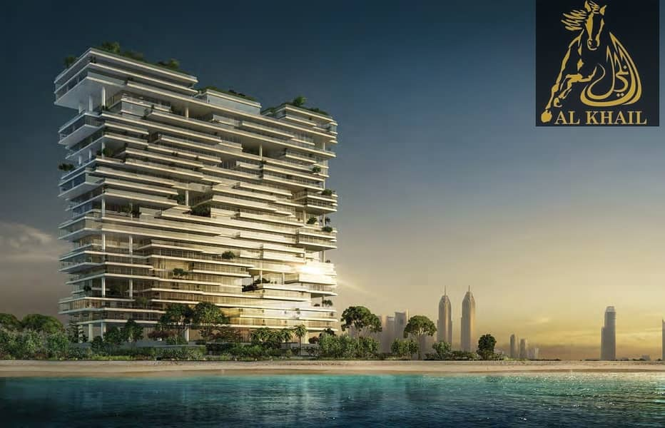 2 Luxurious Triplex 5br Sky Penthouse In Palm Jumeirah Perfect Location
