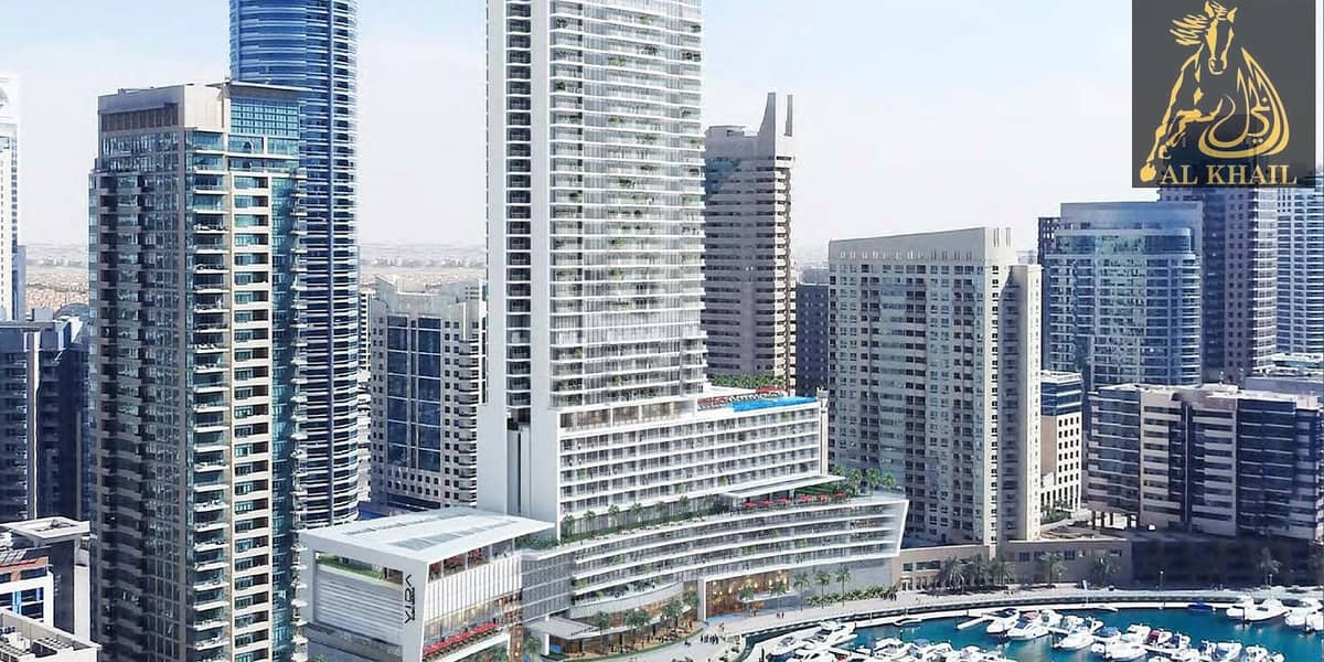 Spacious Grandeur 2BR in Dubai Marina Scenic Marina Views 3 Yrs Post Handover