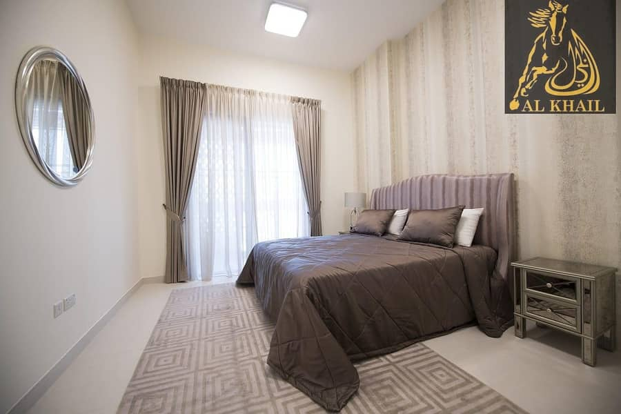 Pay 20% and Move in to Classy Studio Apartment in Mirdif Hills Prime Location