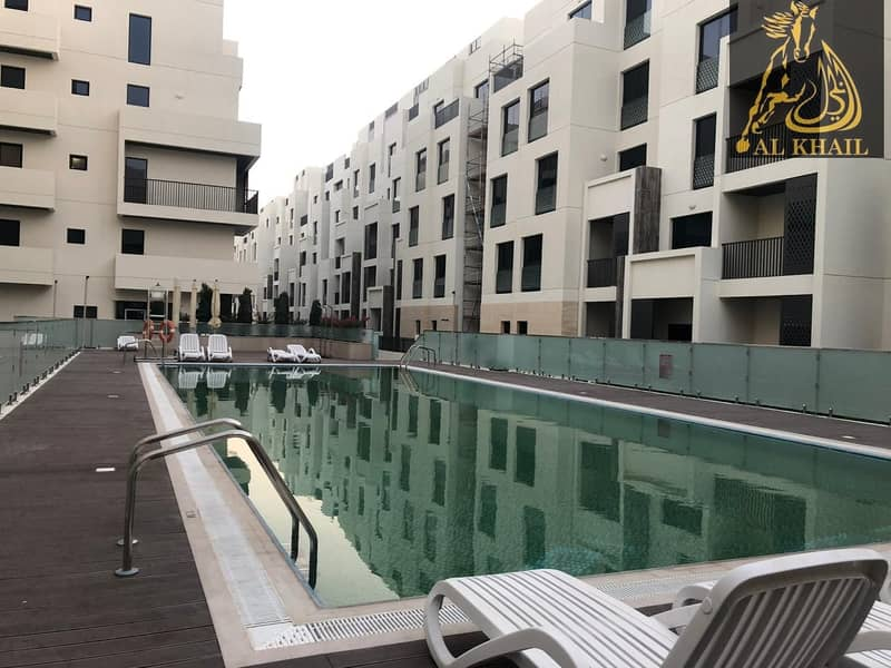 38 Pay 20% and Move in to Classy Studio Apartment in Mirdif Hills Prime Location