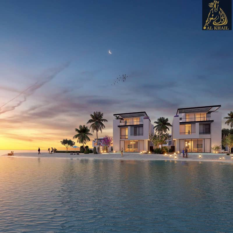2 Invest Now! Exquisite Large 7BR Villa for sale in Sharjah Waterfront City | Easy Payment Plan | Stunning Beach Views