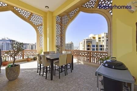 فلیٹ 2 غرفة نوم للايجار في نخلة جميرا، دبي - Type D   Upgraded   Furnished or Unfurnished