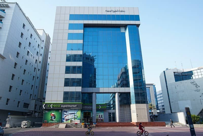 Office in Bank Street Building-Al Mankhool   Special Offer -6 Months rent Free -2 Year Lease. Located on Khalid Bin Wal