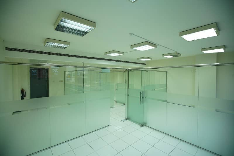 12 Office in Bank Street Building-Al Mankhool   Special Offer -6 Months rent Free -2 Year Lease. Located on Khalid Bin Wal