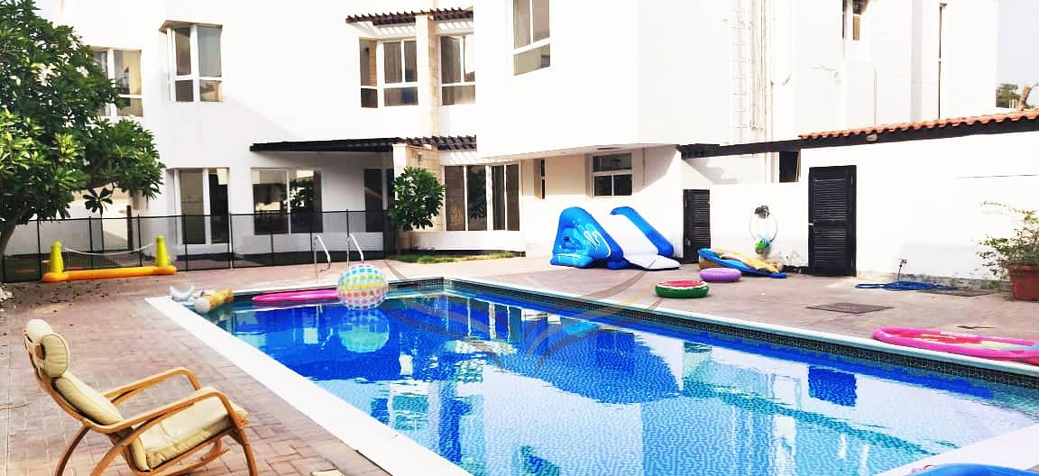 BEAUTIFUL 3BR COMPOUND WITH POOL & PRIVATE GARDEN